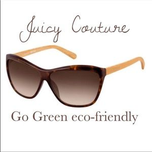 JUICY COUTURE 💕 'Peony' Sunglasses Go Green